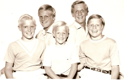 jr19 1970 robert, sandy jr, eric, stuart, & harold
