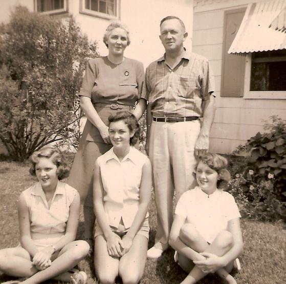 JP29 1954 Bebe, Robert, Mary, Sarah & Martha Jordan
