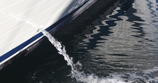 Bilge Water From Yacht