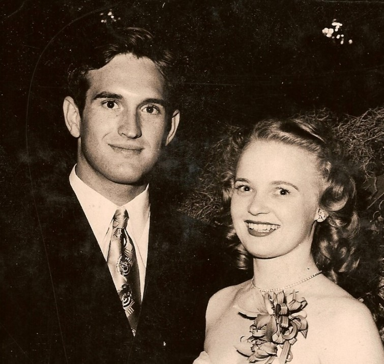 JR12 1951 Sandy Jordan & Ann McGuire (Semi-formal dance) - Copy